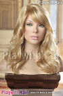 Vintage Retro Glamour Wig - COLOUR CHOICES! Blonde Brown Vanilla