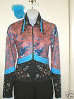 Womans Willow Western Rail Showmanship Pleasure Horsemanship Jacket
