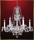 "Crystal Chandelier - MU1235 - 22""W x 22""W World Class Lighting"