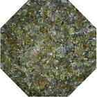 "3/4"" Sage Green Fire Glass Fireglass Fire Pit Fireplace Glass Crystals Gas Logs"