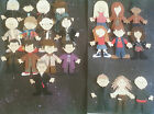 8Doctor Who Scrapbook Figures / Card Toppers Made from Quality Materials