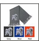 Bichon Frise Scarf Perfect Christmas Gift Embroidered by Dogmania
