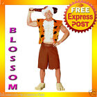 C471 The Flintstones Bamm Bamm Flintstone Deluxe Adult Halloween Costume