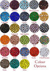 10gr AA Grade Crystal Hotfix Rhinestones - 4 sizes 26 Colours - U CHOOSE