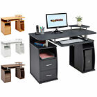 Genuine Piranha Tetra Computer Office Desk with Shelves Cupboard & Drawers PC 5