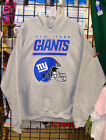 New York GIANTS,  GRAY HOODIE- S, M, L, XL, 2XL, 3XL. 4XL-  VERY NICE!