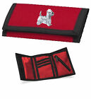West Highland White Terrier (Westie) Wallet Embroidered by Dogmania