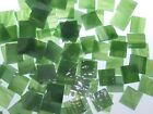CONGO GREEN handcut stained glass mosaic tiles #289