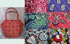 Vera Bradley Purse Handbag Angle Tote Pick your color New With Tags