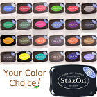 STAZON all-surface solvent INKPAD transparent permanent ink stamp pad tsukineko