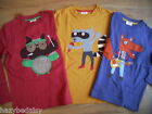 Mini Boden boys applique top t-shirt  long sleeve NEW ages 2 3 4 5 6 7 8