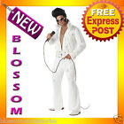 C111 Rock and Roll Legend Vegas Rock Star Elvis Fancy Dress Adult Costume