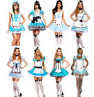 Alice in Wonderland Fancy Dress Costume Outfit Many Styles UK 8 10 12 14 16 18