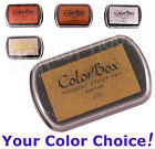 Colorbox PIGMENT Inkpad (METALLIC COLORS) archival opaque ink rubber stamp pad