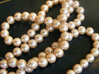 8mm Glass Pearls String - Choose Your Colour