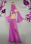 6 Piece Spicy Sheer Genie Costume Sizes S/M and M/L in 3 Colors