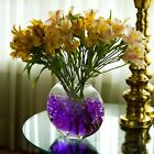 ILLUMINOUS GLOW IN THE DARK WATER ABSORBING  BEADS VASE CENTREPIECE FLOWER PLANT