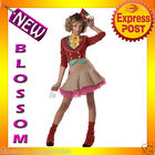 CK25 Mad Hatter Teen Girls Alice in Wonderland Fancy Dress Up Halloween Costume