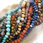 6x8-8x12mm Natural Nugget Freeform Gemstone Beads 16