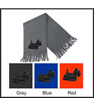 Scottish Terrier (Scottie) Scarf Embroidered by Dogmania