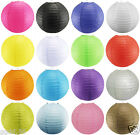 New Various Color Round Paper Lantern Light Lampshade Wedding Party Decor Jf355
