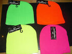 NEON FASHION BEANIE HAT WINTER SKI WARM ONE SIZE - various colours/ gloves avail