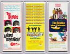 The BEATLES movie poster LARGE FRIDGE MAGNETS - HELP HARD DAYS NIGHT YELLOW SUB