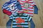Mini Boden boys cotton long sleeve applique top t-shirt age 2-12 super cute!