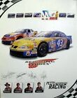 Red Wing Shoes Richard Petty Racing 2000 nascar poster ~MINT~NEW old stock~!!