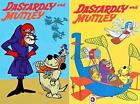 DASTARDLY AND MUTTLEY - LARGE FRIDGE MAGNETS