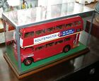 1:24 ROUTEMASTER RM SUNSTAR LONDON BUS GLASS - DISPLAY CASE ONLY