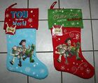 NEW Disney Pixar TOY STORY Christmas Stocking ~Choice of 2 Varieties~