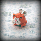 Ginger Cat, bracelet Charm, fits Any Euro Bracelet Funky Cute Kitsch