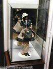 "DOLL 10"" (25.5cm) x10"" (25.5cm) x14"" HIGH (35.5cm) DOLL GLASS DISPLAY CASE ONLY"