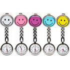 Gel Silicone Smiley Nurse Fob Watch - Choose Your Colour