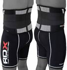 RDX Lumber Lower Back Support Belt Brace Pain Relif Gym Training Weight OS