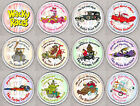 WACKY RACES round drinks COASTERS - RETRO CLASSIC!