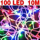 1PC 10M LED String Fairy Lights Indoor Outerdoor Party Xmas Garden Lighting Lamp