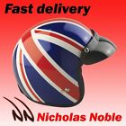 VIPER RS-04 OPEN FACE MOTORBIKE SCOOTER HELMET UNION JACK RED WHITE BLUE