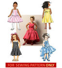 SEWING PATTERN! MAKES FANCY FLOWER GIRL DRESS! CHILD SIZES 2 TO 8! 1ST COMMUNION