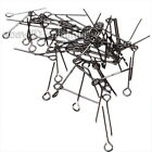 New Arrivals Wholesale Assorted Iron Eyepins Fit Jewelry Making Findings 18mm