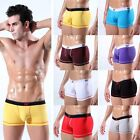 New Sexy men's Boxer Brief Underwear Cotton low rise Shorts EUB faster shipping