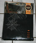 New The Midnight Market Black Wicked Web Cut Out Rectangle Tablecloth ~60x120~