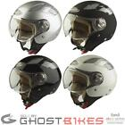 VIPER RS-16 OPEN FACE MOTORCYCLE MOTORBIKE SCOOTER MOPED CITY HELMET WITH VISOR