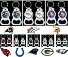 "CHOOSE TEAM Key chain Bottle Opener NFL Official KeyChain Ring NEW Metal 2.25"" L on eBay"
