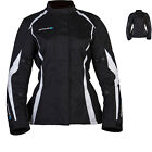 SPADA PLANET LADIES WOMENS WATERPROOF ARMOURED TEXTILE TOURING MOTORCYCLE JACKET