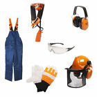 Various Safety Protective Clothing Equipment Gloves Glasses Helmet Ear Defenders