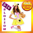 G89 Ladies Goldilocks Fairy Tale Storybook Fancy Dress Halloween Costume Outfit