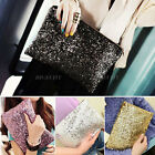 Ladys Sparkling Dazzling Sequins Clutch Bag Purse Handbag Evening Party Hot
