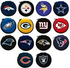 CHOOSE TEAM Case 12 Disc Holder CD DVD Blue Ray Travel Storage NFL Organizer Bag